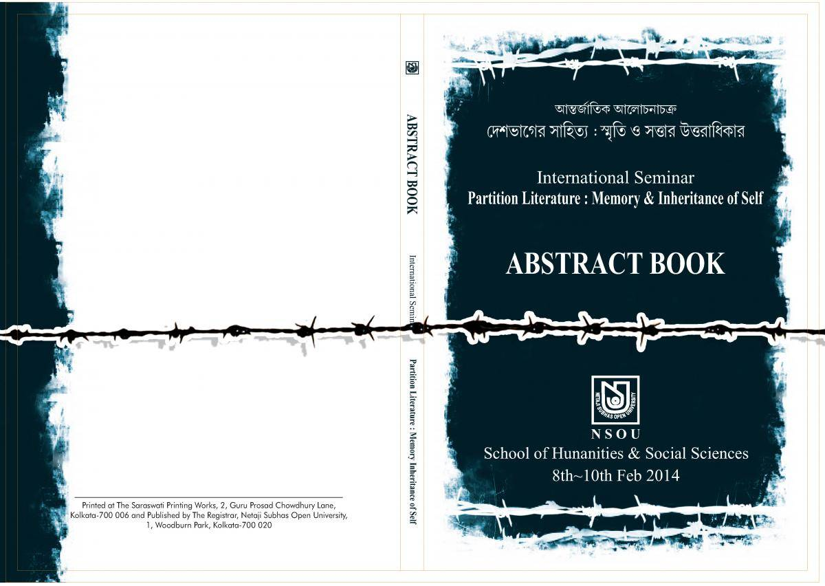 ABSTRACT BOOK International Seminar  COVER